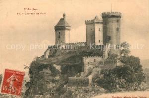 AK / Ansichtskarte Foix Chateau de Foix Foix