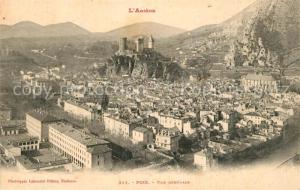 AK / Ansichtskarte Foix Vue generale Foix