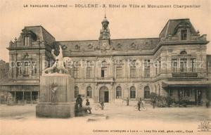 AK / Ansichtskarte Bollene Hotel de Ville et Monument Charpentier Bollene