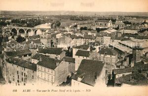 AK / Ansichtskarte Albi_Tarn Vue sur le Pont Neuf et le Lycee Albi_Tarn
