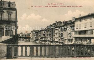 AK / Ansichtskarte Castres_Tarn Vue des Bords de l'Agout prise du Pont Neuf Castres_Tarn