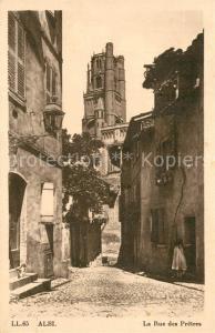 AK / Ansichtskarte Albi_Tarn La Rue des Pretres Albi_Tarn