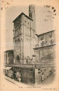 AK / Ansichtskarte Albi_Tarn Eglise Saint Salvy Albi_Tarn