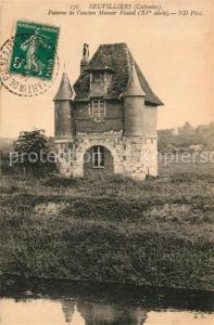 AK / Ansichtskarte Beauvilliers_d_Eure et Loir Poterne de l'ancien Manoir Feodal Beauvilliers_d