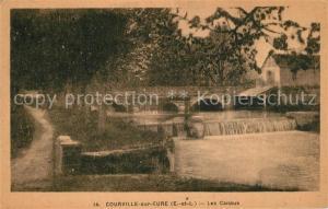 AK / Ansichtskarte Courville sur Eure Les Canaux Courville sur Eure