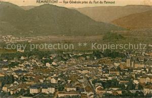 AK / Ansichtskarte Remiremont_Vosges Vue generale prise du Fort du Parmont Remiremont Vosges