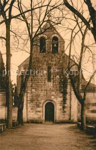 AK / Ansichtskarte Chateaubernard Commanderie du XIII siecle Voutes romanes ogivees Chateaubernard