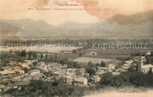AK / Ansichtskarte Salechan Vue generale et Vallee de la Garonne Salechan