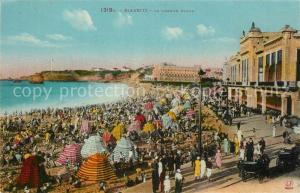 AK / Ansichtskarte Biarritz_Pyrenees_Atlantiques La Grande Place Biarritz_Pyrenees