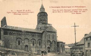 AK / Ansichtskarte Orcival Eglise romane Pelerinage renomme Orcival