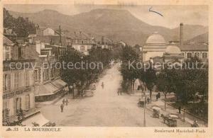 AK / Ansichtskarte La_Bourboule Boulevard Marechal Foch La_Bourboule