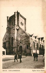 AK / Ansichtskarte Coulommiers Eglise Saint Denis Coulommiers
