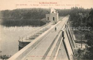 AK / Ansichtskarte Les_Settons Le Barrage  Les_Settons