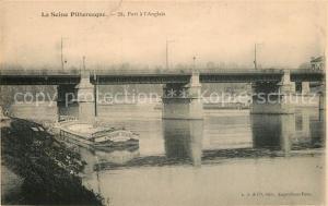 AK / Ansichtskarte Seine et Marne Port a l Anglais Seine et Marne