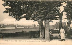 AK / Ansichtskarte Muides sur Loire Chateau de la Cressonniere la Terrasse Muides sur Loire