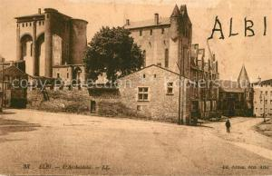 AK / Ansichtskarte Albi_Tarn Archeveche Albi_Tarn