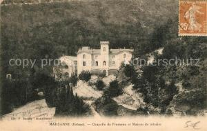 AK / Ansichtskarte Marsanne Chapelle de Fresneau et Maison de retraite Marsanne