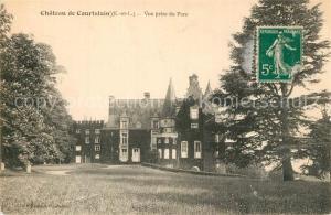 AK / Ansichtskarte Courtalain Chateau de Courtalain Vue prise du Parc Courtalain