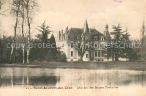 AK / Ansichtskarte Saint_Laurent_des_Eaux Chateau des Basses Fontaines Saint_Laurent_des_Eaux