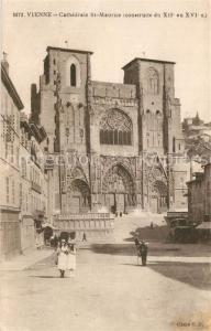 AK / Ansichtskarte Vienne_Isere Cathedrale St Maurice Vienne Isere