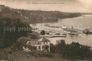 AK / Ansichtskarte Thonon les Bains Le Port Thonon les Bains