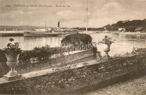AK / Ansichtskarte Thonon les Bains Bords du Lac Thonon les Bains