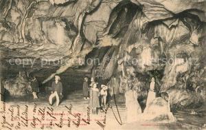 AK / Ansichtskarte Gargas_Hautes Pyrenees Grottes de Gargas Une des Grandes Salle dite Salles de la Cour d Assises Gargas Hautes Pyrenees