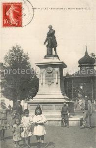 AK / Ansichtskarte Lille_Nord Monument du Maire Andre Lille_Nord