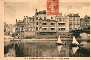 AK / Ansichtskarte Lagny sur Marne Vue de Marne Lagny sur Marne