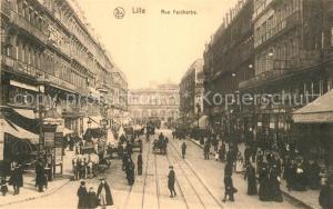 AK / Ansichtskarte Lille_Nord Rue Faidherbe Lille_Nord