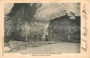 AK / Ansichtskarte Baume les Messieurs Interieur des Grottes Salle des Chauves souris Baume les Messieurs
