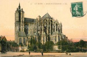 AK / Ansichtskarte Le_Mans_Sarthe Abside de la Cathedrale Le_Mans_Sarthe