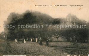 AK / Ansichtskarte Corme Ecluse Monastere de ND Chapelle et Bosquet Corme Ecluse