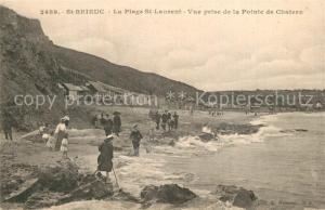 AK / Ansichtskarte Saint Brieuc_Cotes d_Armor La Plage St Laurent Vue prise de la Pointe de Chatern Saint Brieuc_Cotes d