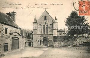 AK / Ansichtskarte Dinan Eglise de Leon Dinan