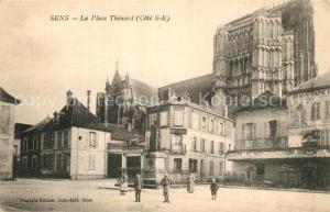 AK / Ansichtskarte Sens_Yonne La Place Thenard Sens_Yonne
