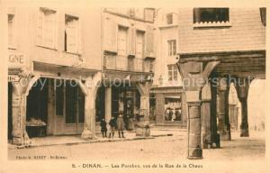AK / Ansichtskarte Dinan Les Porches vus de la Rue de la Chaux Dinan