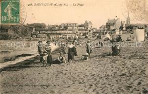 AK / Ansichtskarte Saint Quay Portrieux La Plage Saint Quay Portrieux