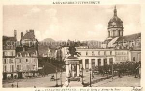 AK / Ansichtskarte Clermont_Ferrand_Puy_de_Dome Place de Jaude et Avenue de Royat Clermont_Ferrand