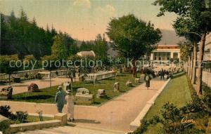 AK / Ansichtskarte Le_Mont Dore_Puy_de_Dome Le Parc du Casino Le_Mont Dore_Puy_de_Dome