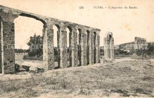 AK / Ansichtskarte Tunis Aqueduc du Bardo Tunis
