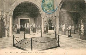 AK / Ansichtskarte Tunis Le Musee du Bardo Salle des Femmes Tunis