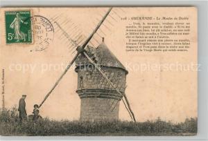 AK / Ansichtskarte Guerande Le Moulin du Diable Guerande