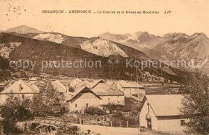 AK / Ansichtskarte Briancon Panorama Glacier et Dome de Moulstier Alpes Briancon