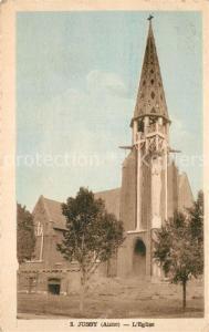 AK / Ansichtskarte Jussy_Aisne Eglise Kirche Jussy Aisne