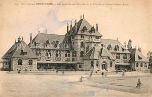 AK / Ansichtskarte Montlucon Hopital de la Charite de Lavault Sainte Anne Montlucon