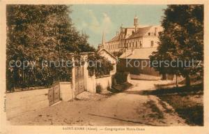 AK / Ansichtskarte Saint Erme Outre et Ramecourt Congregation Notre Dame Saint Erme Outre et Ramecourt