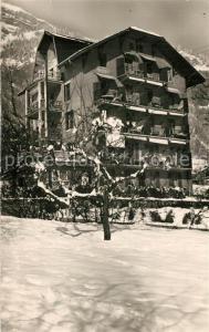 AK / Ansichtskarte Assy Passy_Haute_Savoie Plateau Hotel Les Grands Bois en hiver Alpes Assy Passy_Haute_Savoie