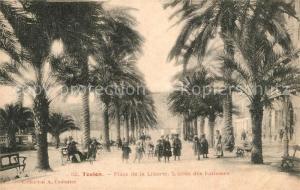 AK / Ansichtskarte Toulon_Var Place de la Liberte Allee des Palmiers Toulon_Var