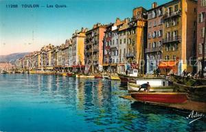 AK / Ansichtskarte Toulon_Var Les quais Toulon_Var
